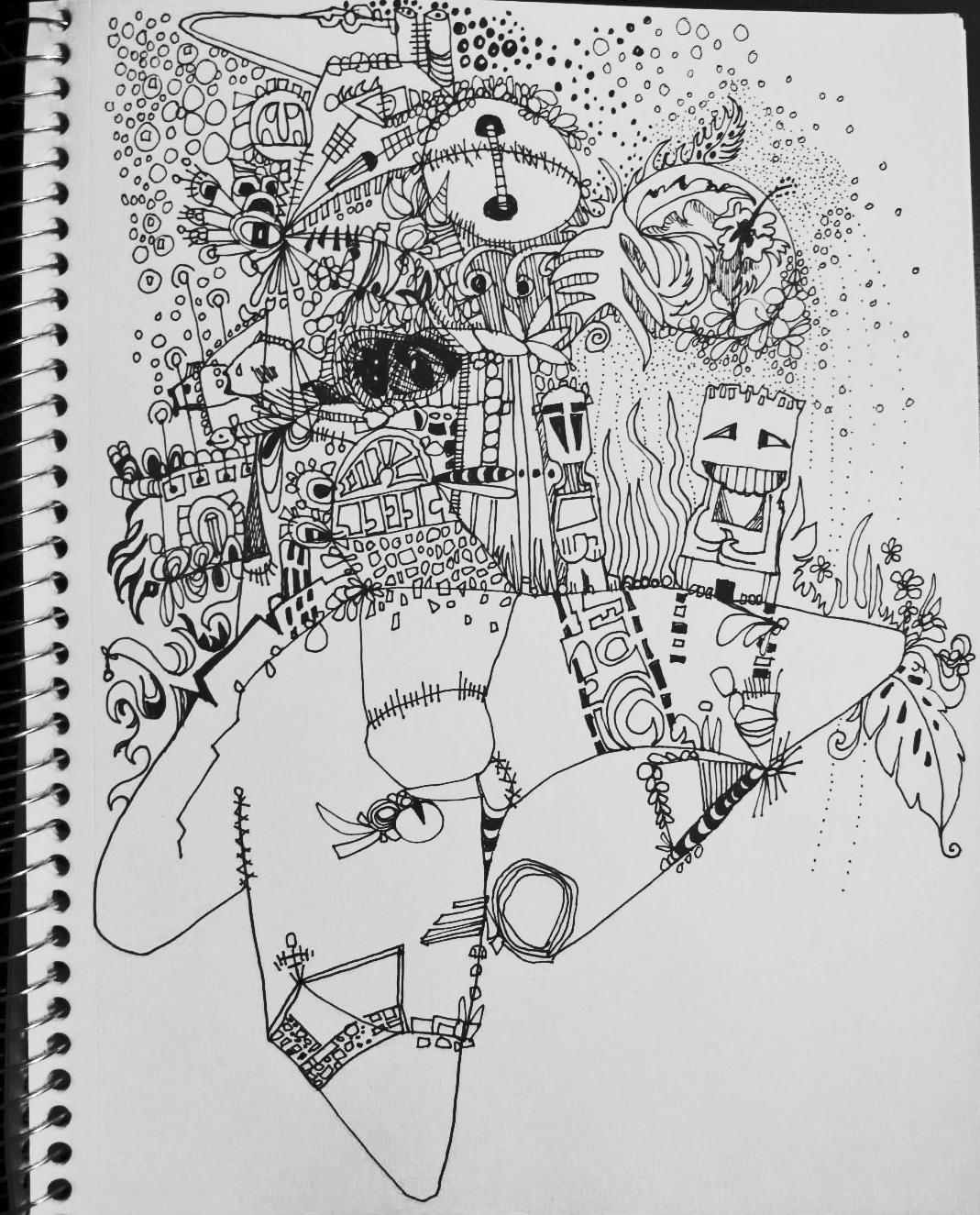 doodles on a plane u2026